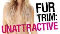 Joanna Krupa wystąpiła w najnowszej kampanii PETA, w której dobitnie pokazuje, że noszenie futra psuje kobiecy wygląd.
