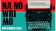 Pierwszego listopada rozpoczęła się kolejna edycja Na No Wri Mo, czyli National Novel Writing Month.