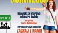 Kolejna edycja popularnej wrocławskiej imprezy Gitarowy Rekord Guinnessa odbędzie się już w środę 1 maja.