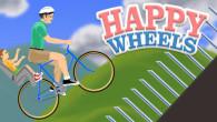 Gra internetowa Happy Wheels to ciekawa produkcja, która swoim wysokim poziomem wykonania wyraźnie wyróżnia się na tle wielu innych produkcji dostępnych z okna przeglądarki.