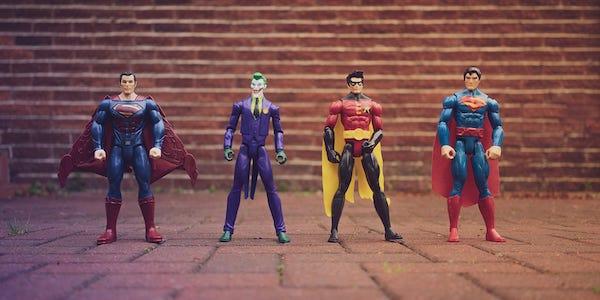 Twój chłopak lubi filmy o superbohaterach?